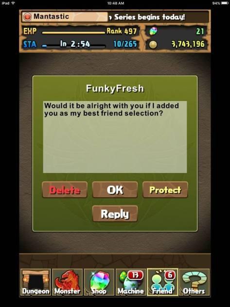 BFF select