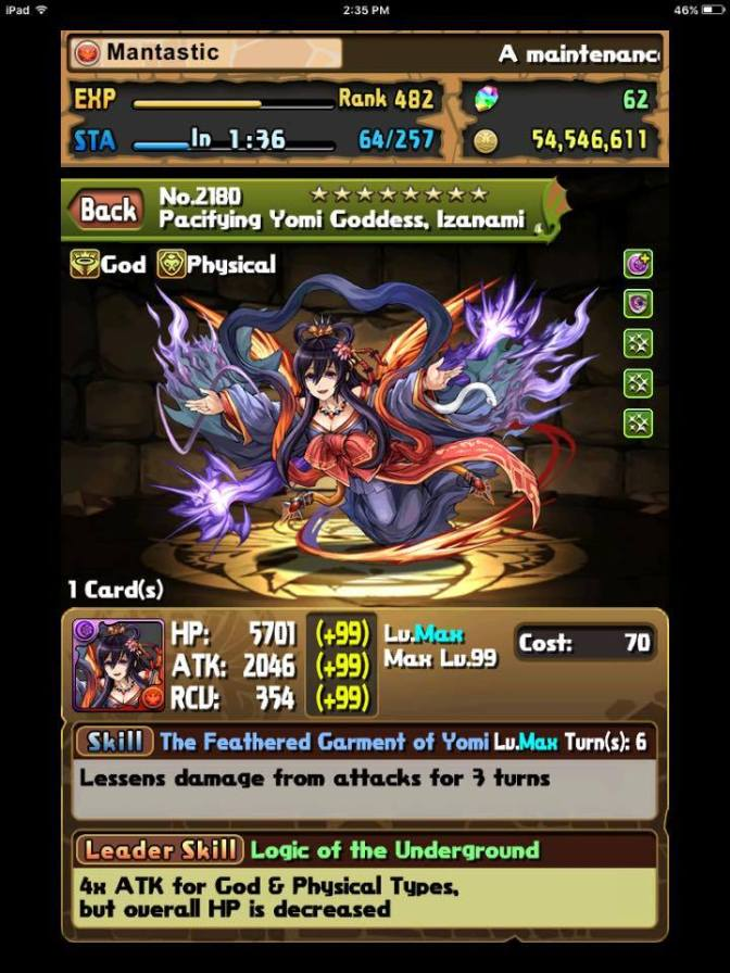 Izanami Descended Guide!!