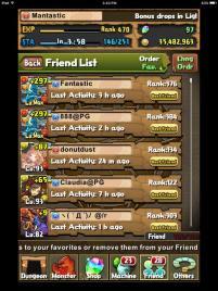 Friend List