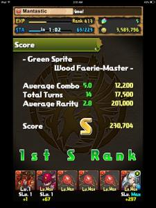 Maybe I should have leveled Ares a bit..