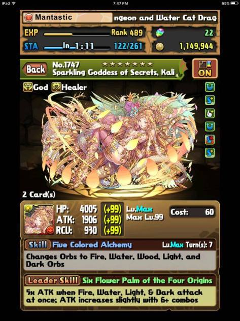 Light Kali Stats