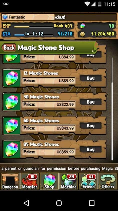 Stone Prices