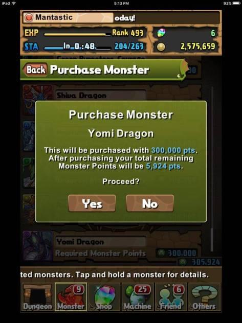 Purchasing Yomi D