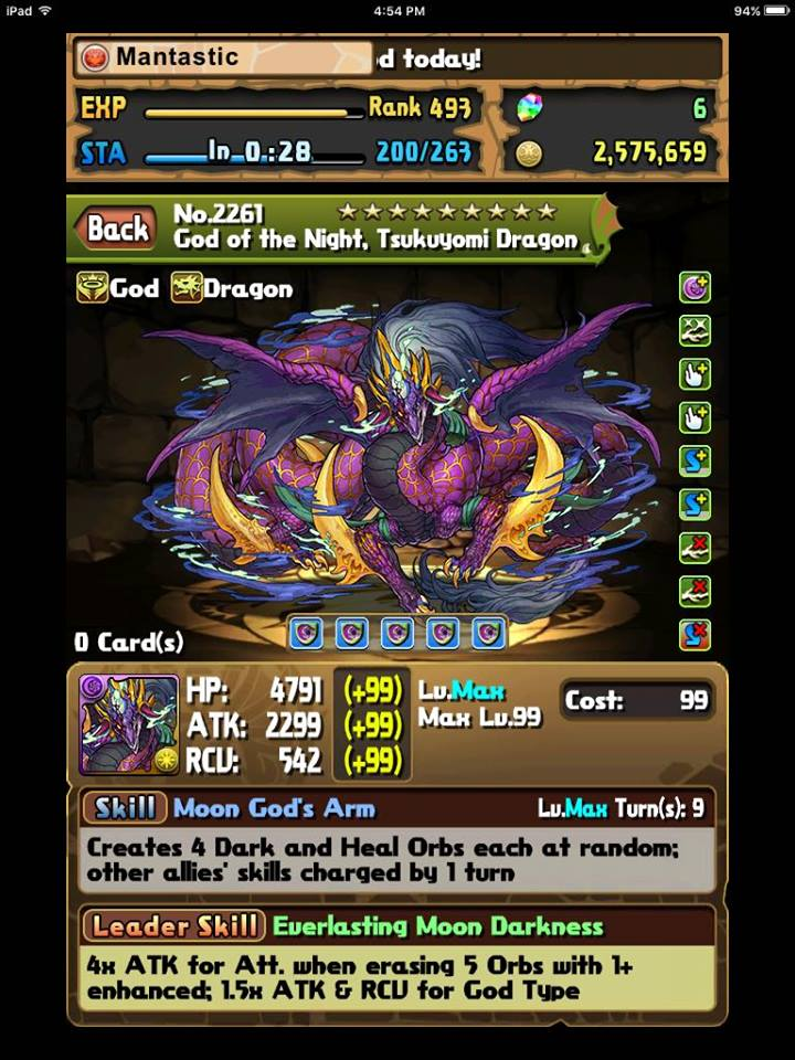 Yomi or Ra Dragon with my first 300k Monster Points