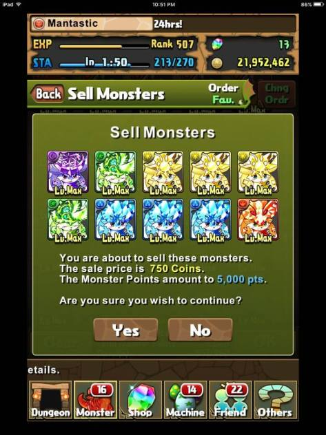 5k MP sell