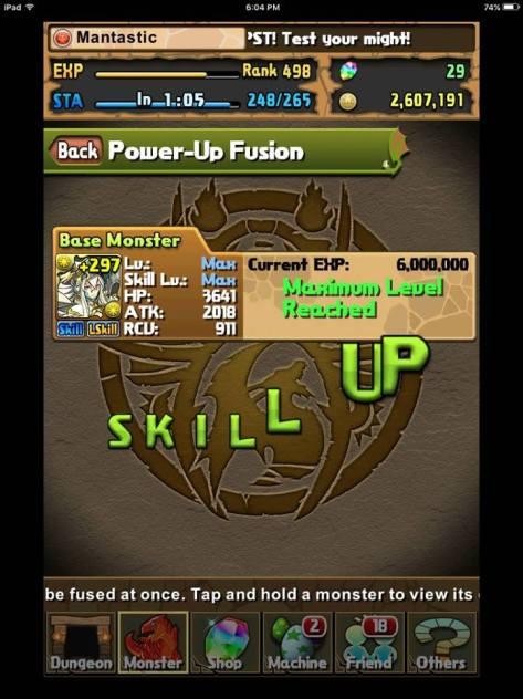 Elia Skill up