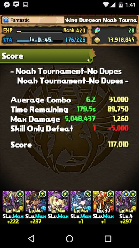 Fantastic Noah Rank1