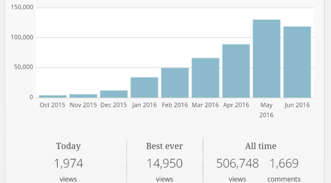 500,000 Views & Advice for Starting a PAD Blog