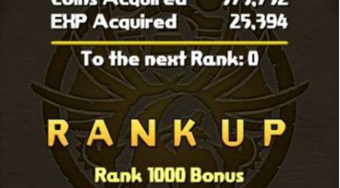 Why not to Purely Farm/Grind Rank Experience