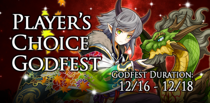 Thoughts on Player's Choice Godfest Results