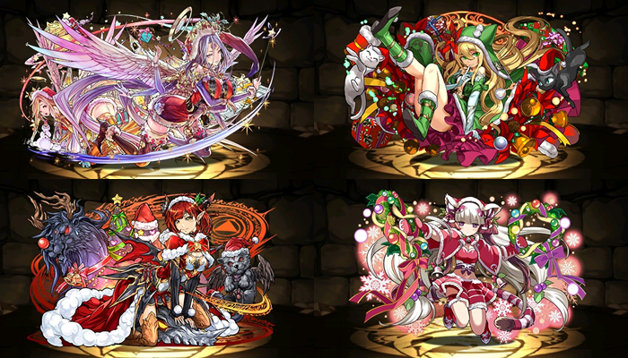 Christmas REM   Mantastic Puzzle and Dragons