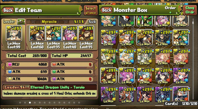 What Makes a Good Leader in Puzzle and Dragons?