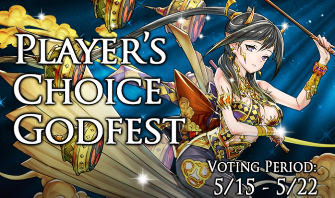 Player's Choice Godfest Voting Advice, May 15-22, 2017