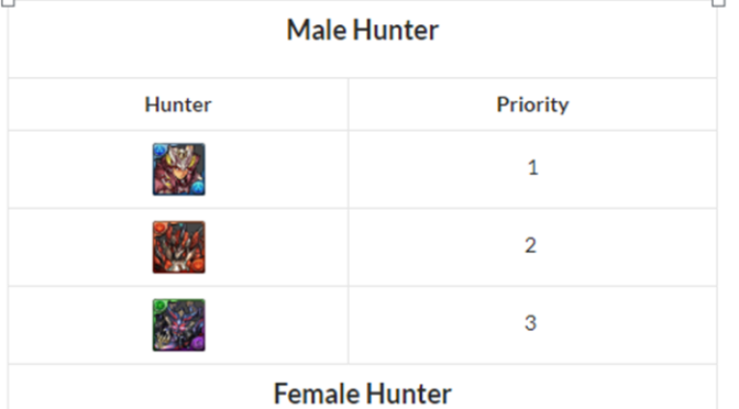 Male and Female Hunter Review – Monster Hunter Collab