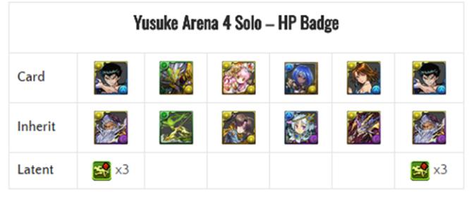 Team Building for Yusuke