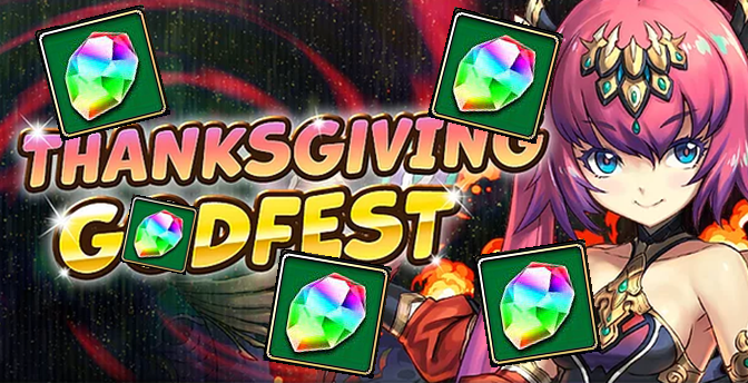 5 Magic Stone Thanksgiving Godfest + Yurisha Debut Nov. 13 – 15