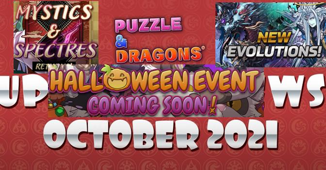 October PAD News – Mystics & Spectres, Halloween, New Evos